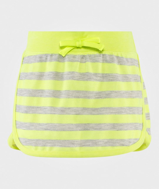 United Colors of Benetton Stripe Jersey Skirt Lime LIME 901