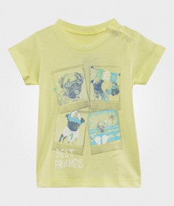 United Colors of Benetton Best Friends T-Shirt Yellow