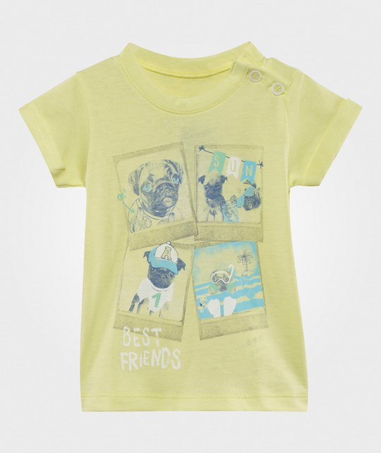 United Colors of Benetton Best Friends T-Shirt Yellow YELLOW 36F