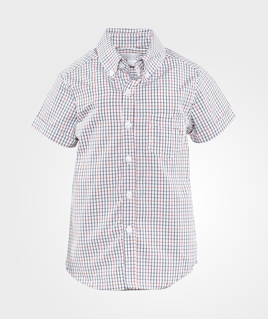 Livly Alexander Shirt Short Sleeve  Red Navy Check