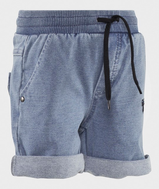 Hummel Laudrup Shorts Dark Denim Wash Dark Denim Wash