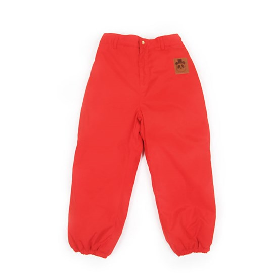 Mini Rodini Luton Pants Red Red