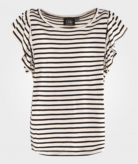 Petit by Sofie Schnoor Striped Top Off White Striped