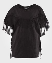 Petit by Sofie Schnoor Frill T-Shirt Black Black