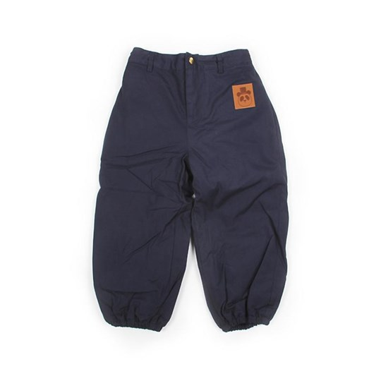 Mini Rodini Luton Pants Blå Blue