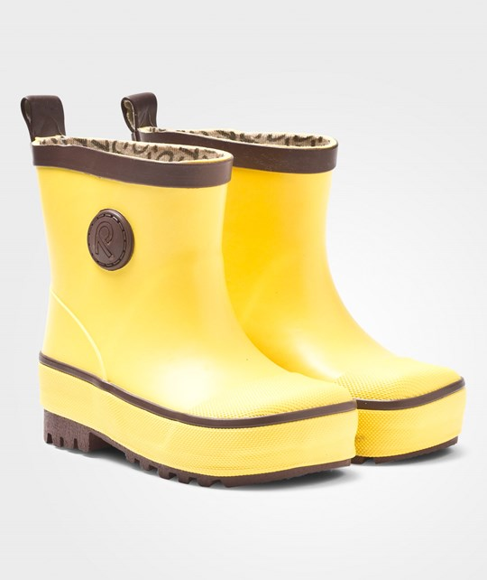 Reima Naba Rubber Boots Yellow Yellow