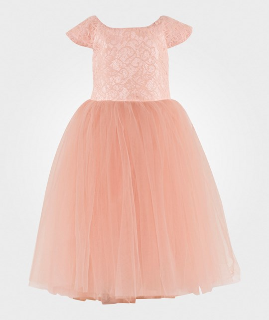 DOLLY by Le Petit Tom Dreamy Ballet Dress Pink Pink