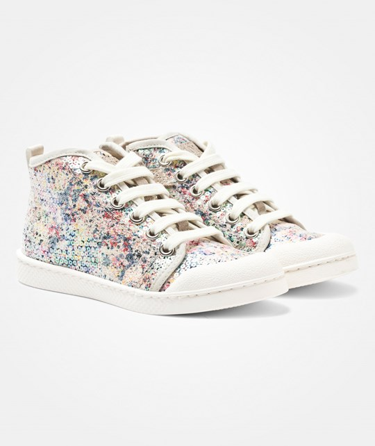 10-IS Ten C Bind Shoes Spray Multi Multi Coloured Sequins