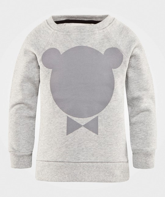One We Like Rag Sweat Chester Grey Melange Grey Melange