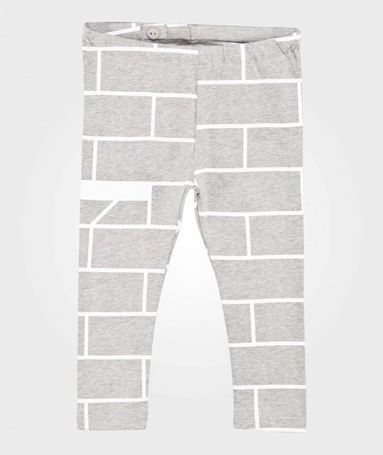 One We Like Leggings Tegel Brick Grey Melange Grey Melange