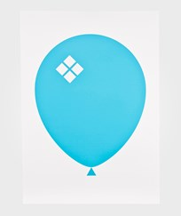 Acne JR Balloon Poster Blue Sand