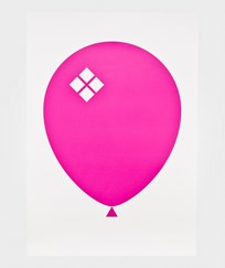 Acne JR Balloon Poster Pink Rosa