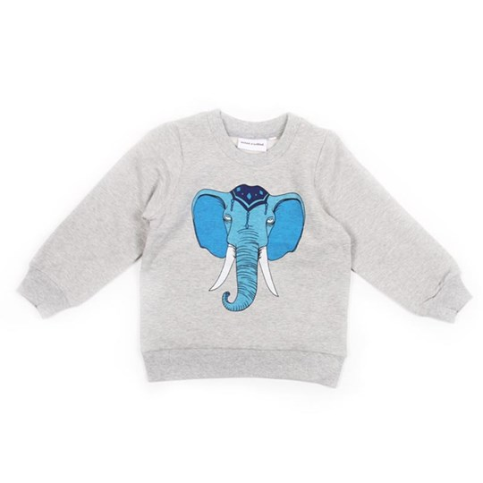Mini Rodini Elephant Blå Sort