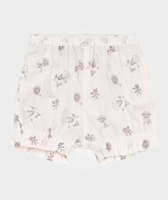 Noa Noa Miniature Baby Delicate Voile Printed Shorts Chalk Chalk