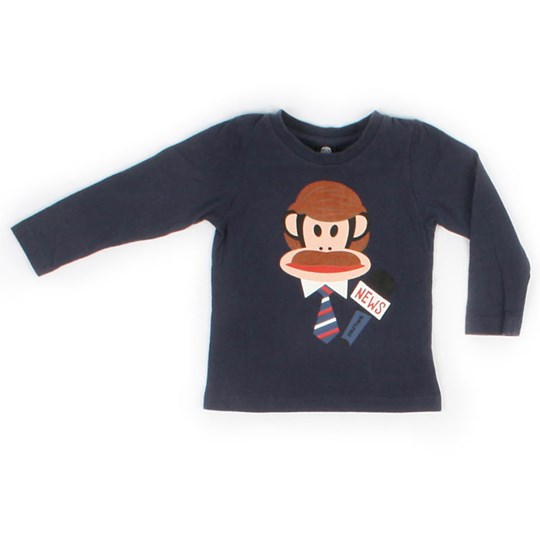 Paul Frank L/S Julius Basic Microphone Blue