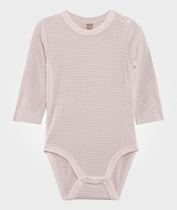 Hust&Claire Striped Baby Body Bamboo White