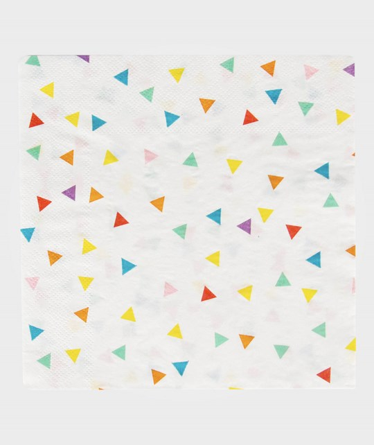 My Little Day 20 Paper Napkins - Multicolor Triangles multicolor triangles
