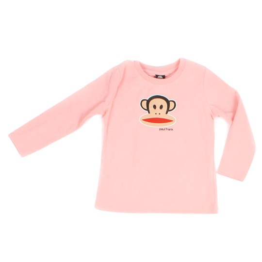 Paul Frank L/S Julius Basic Girl Pink Pink