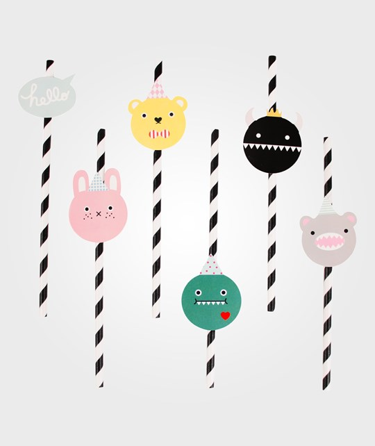 My Little Day 12 Paper Straws - Noodoll Noodoll