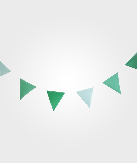 My Little Day 3m Paper Bunting - Green Green