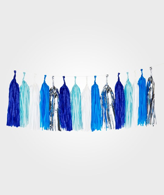 My Little Day Tassel Garland - Blue Blue