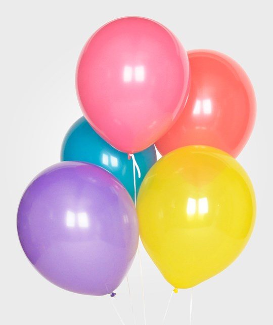 My Little Day 10 Balloons Mix - Multicolor Multicolor