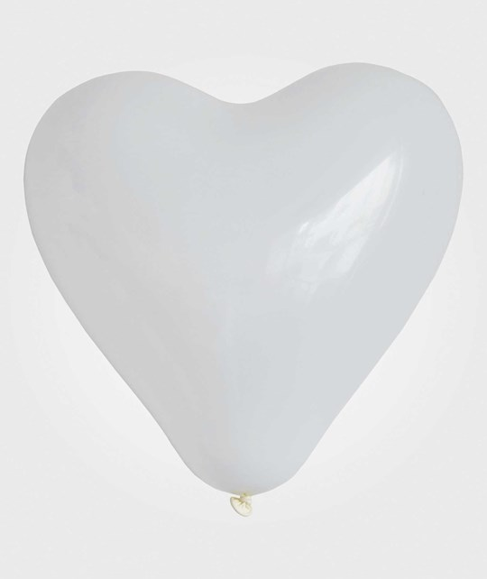 My Little Day 10 Heart Balloons - White White