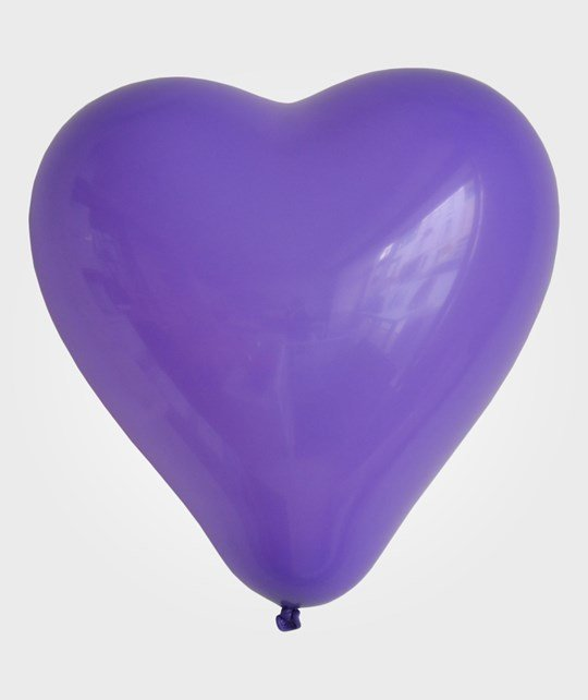My Little Day 10 Heart Balloons - Violet Violet