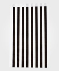 My Little Day 10 Paper Bags - Black Stripes black stripes