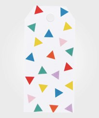 My Little Day 12 Gift Tags - Multicolor Triangles multicolour triangles