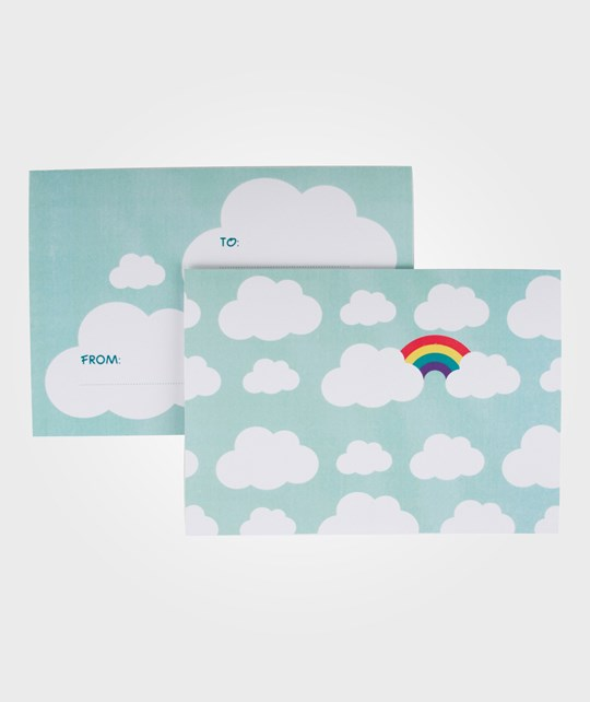 My Little Day 8 Invitations - Clouds clouds