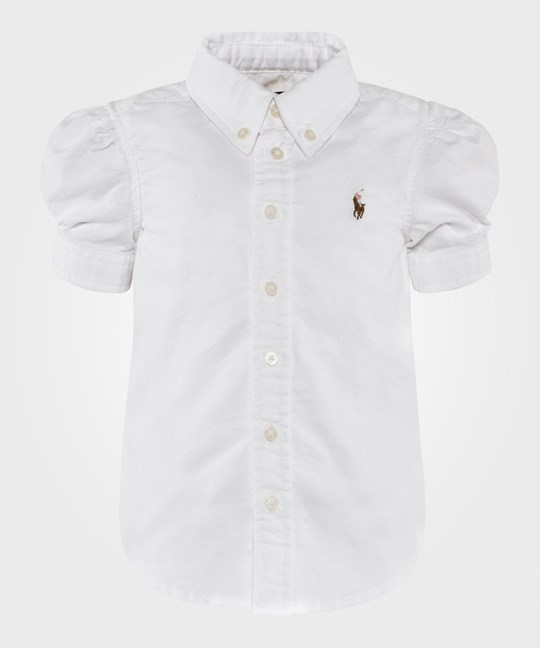 Ralph Lauren Cotton Oxford Shirt White White