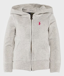 Ralph Lauren French Hoodie Pale Grå Heather