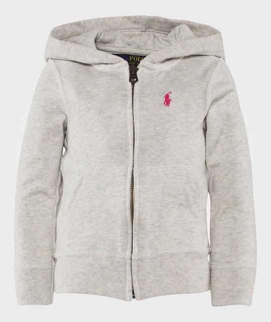 Ralph Lauren French Terry Hoodie Pale Heather PALE HEATHER