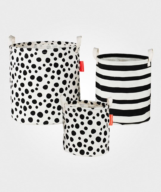Done by Deer Soft Storage Basket 3 Pieces Multi