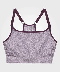 Boob Fast Food Soft Sport Bra Purple Mélange фиолетовый