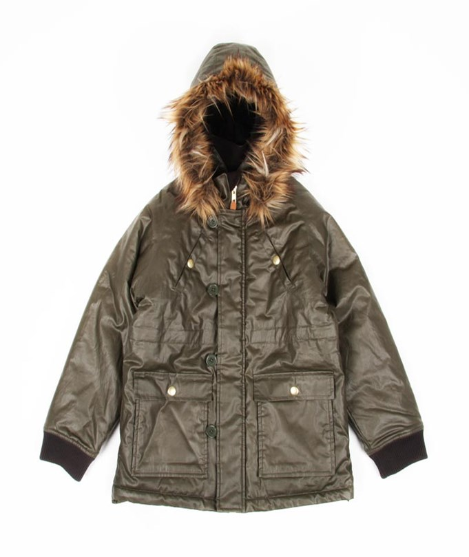 Lincoln Parkas Green