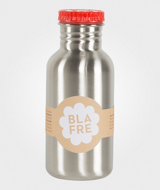 Blafre Stainless Steel Bottle Red - 500 ml Rød