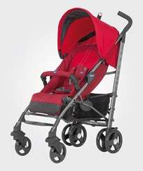 Chicco Liteway® Stroller With Bumper Bar Red Rød