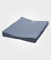 Cam Cam Organic Changing Cushion Sashiko Blue Sashiko Blue