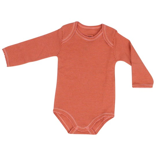 Noa Noa Miniature Baby Basic Body Stripete Oransje