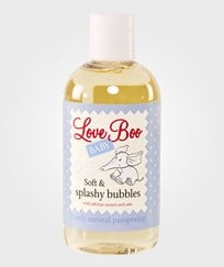 Love Boo Soft & Splashy Bubbles 250ml Hvit