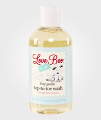 Love Boo Very Gentle Top-to-toe Wash 250ml Valkoinen