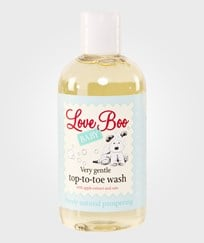 Love Boo Very Gentle Top-to-toe Wash 250ml White
