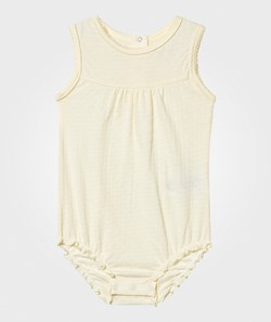 Mini A Ture Julie B Romper Yellow Pear Sorbet