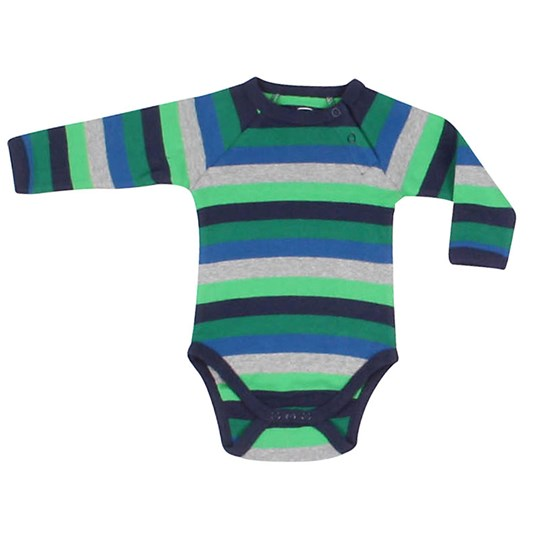 Ej sikke lej Organic Striped Body Green Green