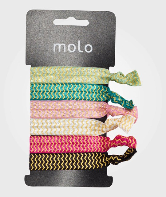 Molo Mixed Hair Elastics ZigZag Zigzag