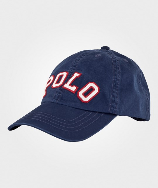 Ralph Lauren Polo Cotton Baseball Cap Spring Navy SPRING NAVY