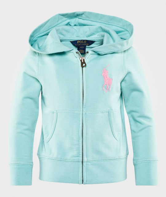Ralph Lauren Big Pony French Terry Hoodie Bayside Green Bayside Green