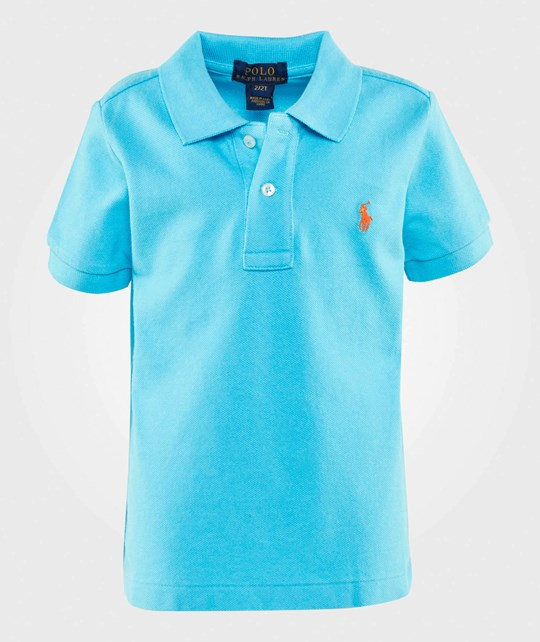 Ralph Lauren Cotton Mesh Polo Tropic Turquoise Tropic Turquoise